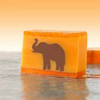 Duftseife Elefant - Orange & Zimt